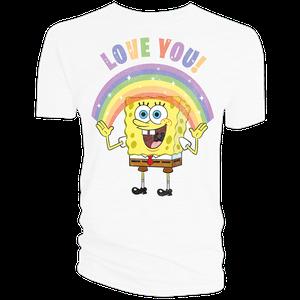 [SpongeBob SquarePants: T-Shirt: Love & Sparkles (Product Image)]