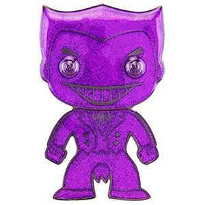 [DC Comics: Loungefly Large Enamel Pop! Pin: Joker (Purple Glitter Chase Variant) (Product Image)]