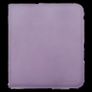 [12 Pocket Zippered Pro Binder: Purple (Product Image)]