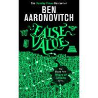 [Ben Aaronovitch signing False Value (Product Image)]