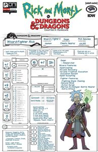 [Rick & Morty Vs D&D II: Painscape #2 (Cover C Look Character She) (Product Image)]