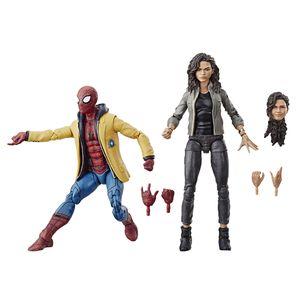[Spider-Man: Homecoming: Marvel Legends Action Figures: Spider-Man & MJ 2-Pack (Product Image)]