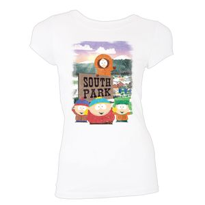 [South Park: Women's Fit T-Shirt: Mountain Town (Product Image)]