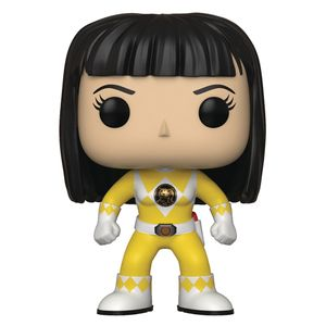 [Power Rangers: Pop! Vinyl Figure: Yellow Ranger No Helmet (Product Image)]
