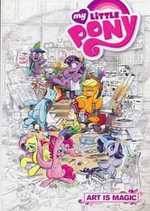 [My Little Pony: Art Is Magic (Product Image)]