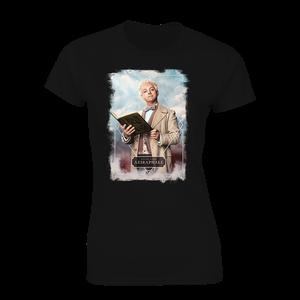 [Good Omens: Women's Fit T-Shirt: Aziraphale (Product Image)]