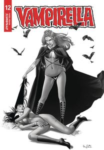 [Vampirella #12 (Gunduz Black & White Variant) (Product Image)]