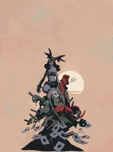 [Fearless Dawn Meets Hellboy: One Shot (Mignola Cover) (Product Image)]