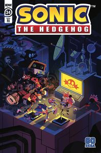 [Sonic The Hedgehog #34 (Fourdraine Variant) (Product Image)]