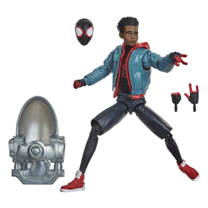 [Spider-Man: Into The Spider-Verse: Marvel Legends Action Figure: Miles Morales (Product Image)]