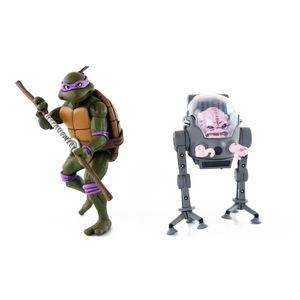 [Teenage Mutant Ninja Turtles Cartoon: Action Figure 2-Pack: Donatello V Krang (Product Image)]