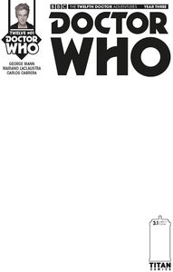 [Doctor Who: 12th Doctor: Year Three #1 (Blank Sketch Variant) (Product Image)]