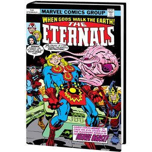 [Eternals: Complete Saga: Omnibus (Kirby DM Variant Hardcover) (Product Image)]