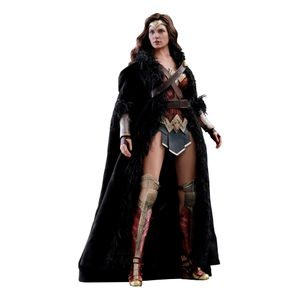 [Justice League: Deluxe Hot Toys Action Figure: Wonder Woman (Product Image)]