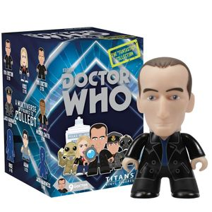 """[Doctor Who: TITANS: 9th Doctor: """"FANTASTIC!"""" Collection (Complete Display) (Product Image)]"""