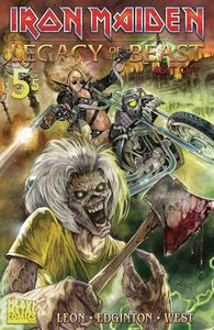 [Iron Maiden: Legacy Of The Beast: Volume 2 Night City #5 (Cover A Flemi) (Product Image)]