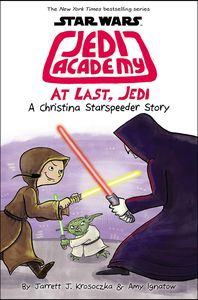 [Star Wars: Jedi Academy: Book 9: At Last, Jedi (Hardcover) (Product Image)]