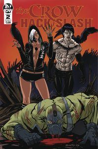 [The Crow: Hack Slash #2 (Cover A Seeley) (Product Image)]