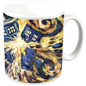 [Doctor Who: Mug: Van Gogh Exploding TARDIS (Product Image)]