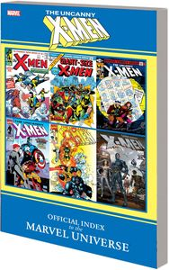 [Official Index to the Marvel Universe: Uncanny X-Men (Product Image)]