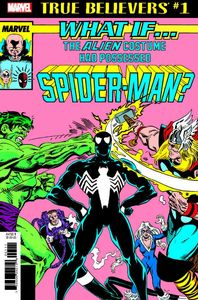 [True Believers: What If Alien Costume Possessed Spider-Man #1 (Product Image)]