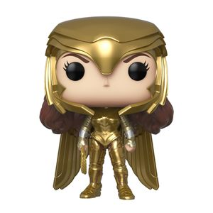 [Wonder Woman 1984: Pop! Vinyl Figure: Wonder Woman Gold Armour (Power Pose) (Product Image)]