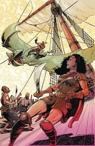 [Red Range: Pirates Of Fireworld #1 (Cover E Chris Schenck) (Product Image)]