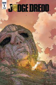 [Judge Dredd: Mega City Zero #1 (IDW Greatest Hits) (Product Image)]
