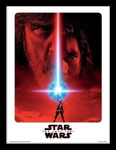 [Star Wars: The Last Jedi: Framed Print: Teaser (Product Image)]