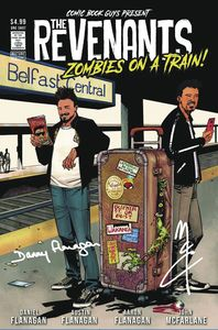 [The Revenants Zombies On A Train (Mccrea Cover Signed Edition) (Product Image)]