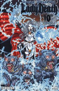 [Lady Death: 10th Anniversary #1 (Platinum Foil Variant) (Product Image)]