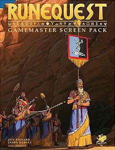 [Runequest: Gamesmaster Screen Pack (Product Image)]