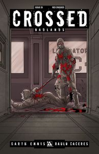 [Crossed: Badlands #28 (Red Crossed Variant) (Product Image)]