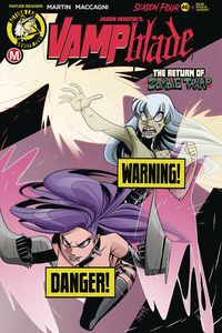 [Vampblade: Season 4 #9 (Cover B Maccagni Risque) (Product Image)]