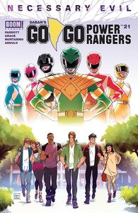 [Go Go Power Rangers #21 (Cover A Main Vidal) (Product Image)]