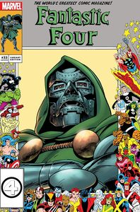 [Fantastic Four #33 (Exclusive Marvel Frame Variant) (Product Image)]