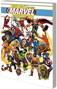 [History Of The Marvel Universe (Rodriguez DM Variant) (Product Image)]