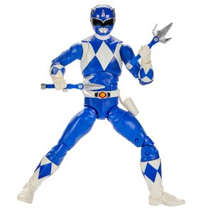 [Power Rangers Legacy: Lightning Collection Action Figure: Blue Ranger (Product Image)]