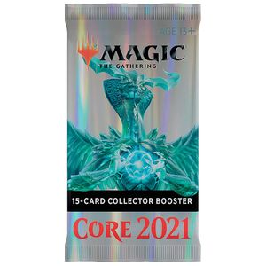 [Magic The Gathering: Card Game: Core 2021: Collector Booster Pack Single (Product Image)]