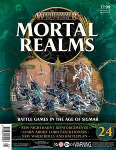 [Warhammer: Age Of Sigmar: Mortal Realms #24 (Product Image)]