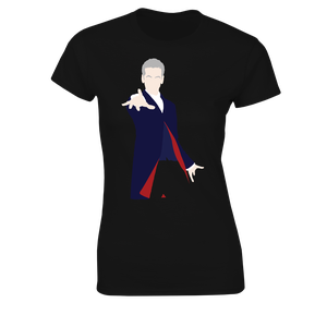 [Doctor Who: Women's Fit T-Shirt: 12th Doctor Vector (Close-Up) (Product Image)]