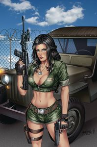[Grimm Fairy Tales: 2019 Armed Forces Appreciation (Cover A Reyes) (Product Image)]