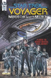 [Star Trek: Voyager: Mirrors & Smoke (Cover A Woodward) (Product Image)]
