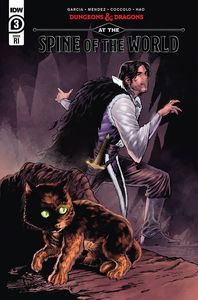 [Dungeons & Dragons: At The Spine Of The World #3 (Diaz Variant) (Product Image)]