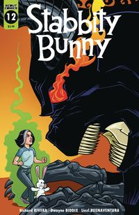 [The cover for Stabbity Bunny #12]