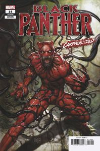 [Black Panther #14 (Brown Carnage-Ized Variant) (Product Image)]