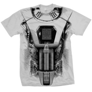 [Doctor Who: T-Shirts: Earthshock Cyberman Costume (Forbidden Planet Exclusive) (Product Image)]