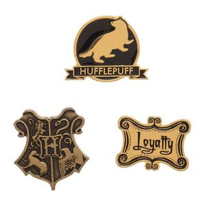 [Harry Potter: Lapel Pin 3-pack: Hufflepuff (Product Image)]