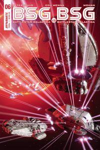 [BSG Vs BSG #6 (Cover C Michael Adams Apollo Action Fig) (Product Image)]