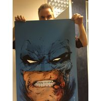 [Dark Knight Print Signed By Jock (Product Image)]